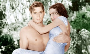 Johnny Weissmuller and Maureen OSullivan in Tarzan and his Mate (1934)