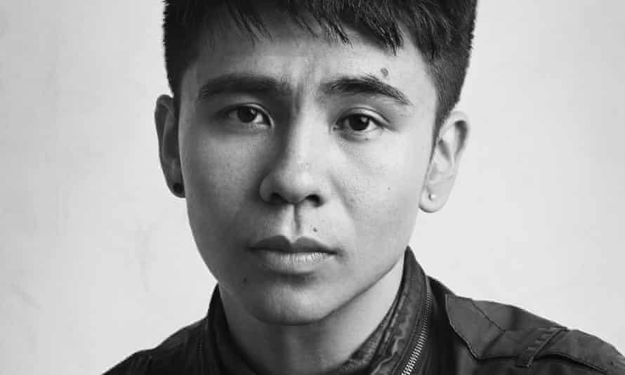 a black and white portrait of the poet ocean vuong