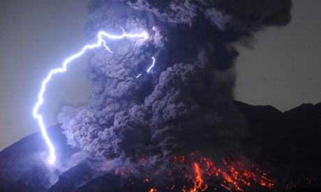 Risultati immagini per eruption Volcano Aso