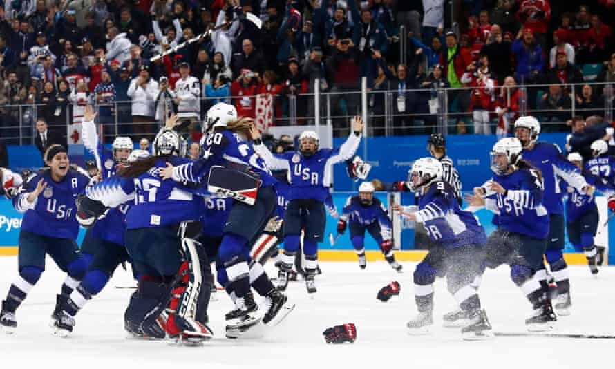 USA's victory at this year's Winter Olympics gave hockey a tremendous boost in the States