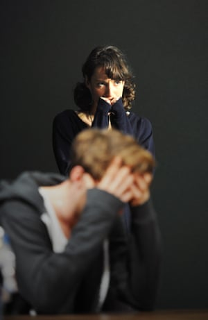 Phoebe Waller-Bridge and Harry Treadaway in Tribes by Nina Raine, directed by Roger Michell in 2010.
