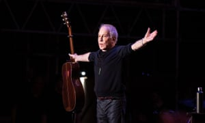 Paul Simon performs at Outside Lands in Golden Gate Park.