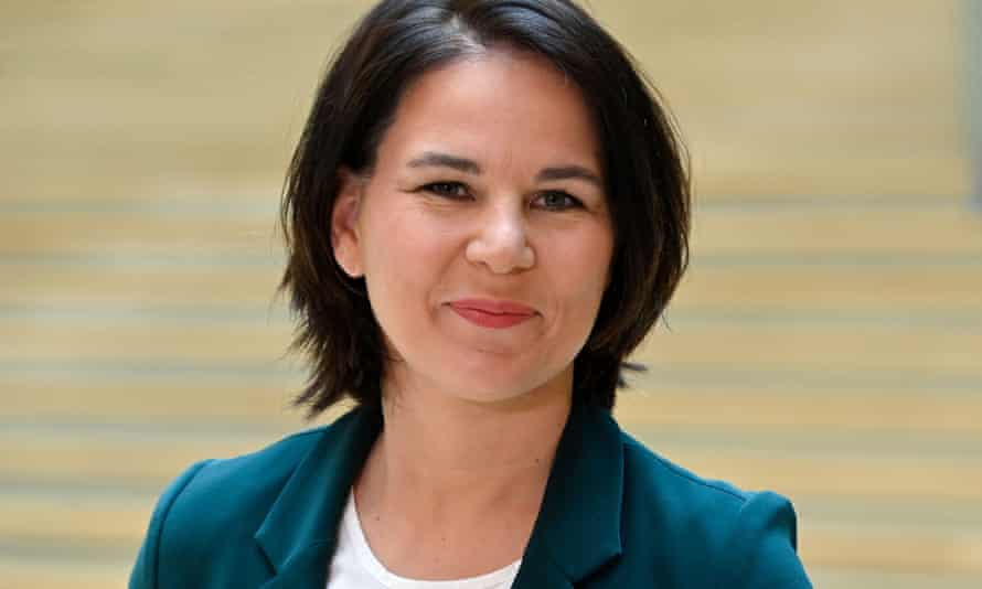 Annalena Baerbock, Green Party candidate to succeed Angela Merkel as Chancellor.