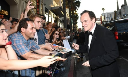 Tarantino at the Once Upon a Time … in Hollywood premiere