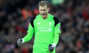 Loris Karius arrived from German club Mainz in the summer and has convinced Jürgen Klopp he is worth a run as Liverpool's No1.