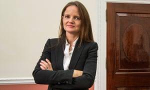Bank of England deputy governor Charlotte Hogg