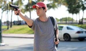 Darren Criss as Andrew Cunanan in The Assassination of Gianni Versace.