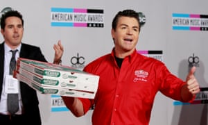 John Schnatter, founder and CEO of Papa John's Pizza, in 2011 in Los Angeles.