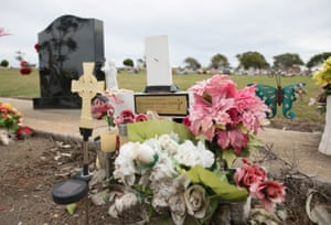 David Dungay Jr's gravestone
