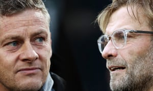 Ole Gunnar Solskjær's Manchester United face high-flying Liverpool, who are flourishing under Jürgen Klopp.