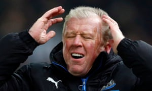 Newcastle United manager Steve McClaren lfeels real pain in defeat at Stoke.