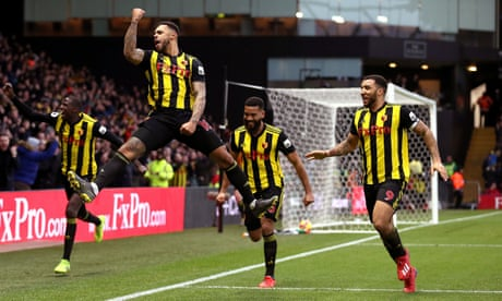 Andre Gray gives Watford victory over Marco Silva's struggling Everton