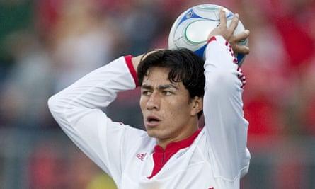 Former El Salvador footballer Alfredo Pacheco