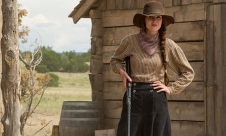 'The plot may be too slow for some - which, in addition to the genre, might drive viewers away - but Godless is worth it if only for aesthetic pleasure' ... Michelle Dockery in Godless.