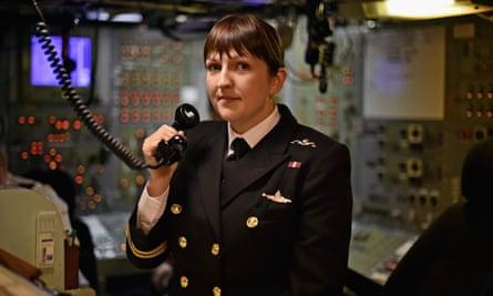 Lt Cdr Alexandra Olsson.