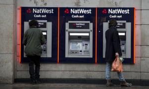 Natwest cash machines