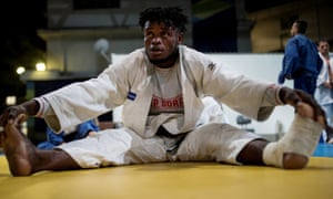 Refugee and judo athlete Popole Misenga