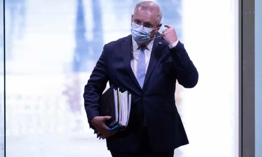 Scott Morrison enters parliament