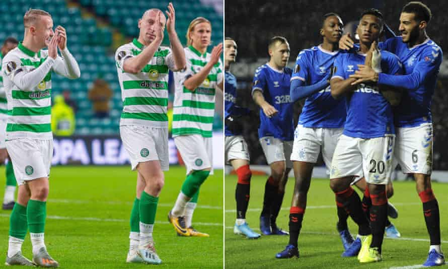 The Old Firm meet in a crunch showdown at Celtic Park.