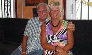 Denis and Elaine Thwaites.