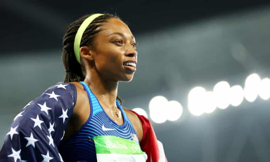 "Allyson Felix, the key speaker for Los Angeles' 2024 Olympic bid, told IOC officials in Doha: ""We need the games to help make our nation better."""