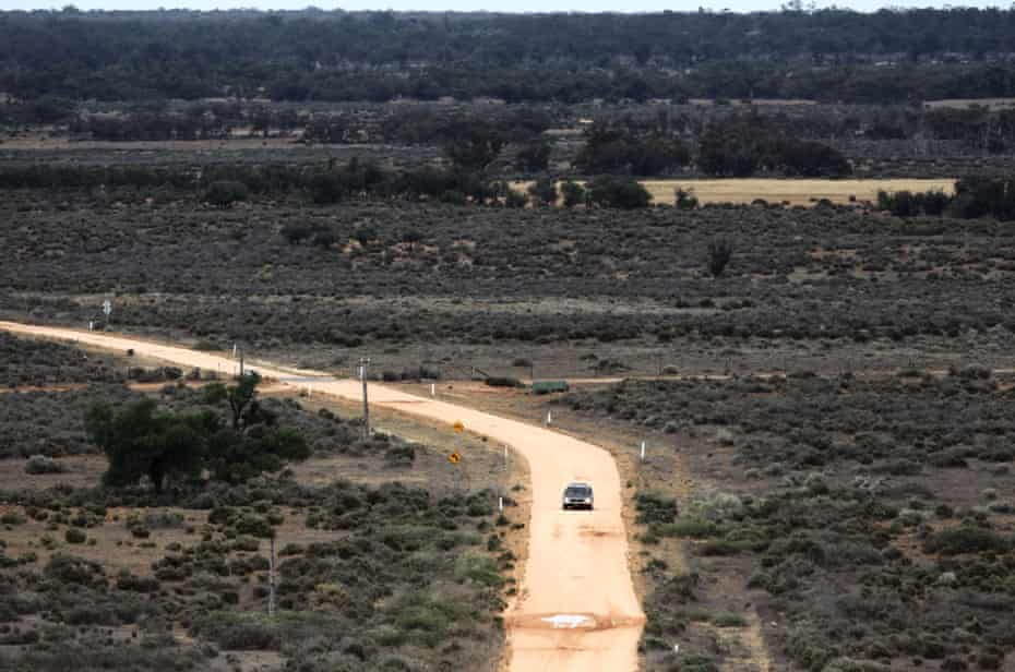 Mungo Man on Repatriation Trip from Canberra to Traditional Owners of the Willandra Lakes Region.