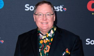 John Lasseter attends the premiere of Coco.
