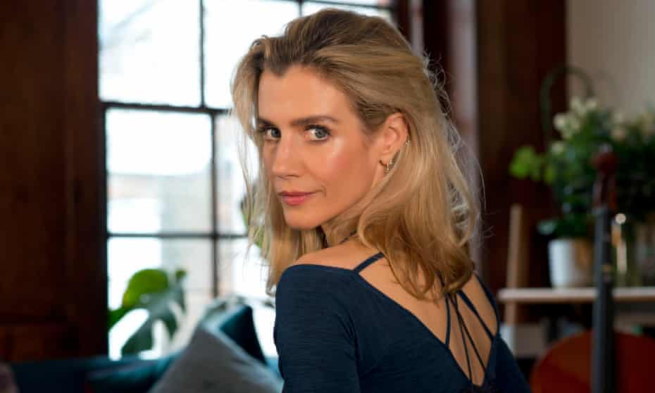 Actor Lisa Dwan at her home in Hampstead, London