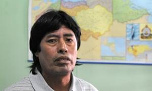 Peasant activist Vitalino Álvarez: 'The rumours are I'm now top of that list.'