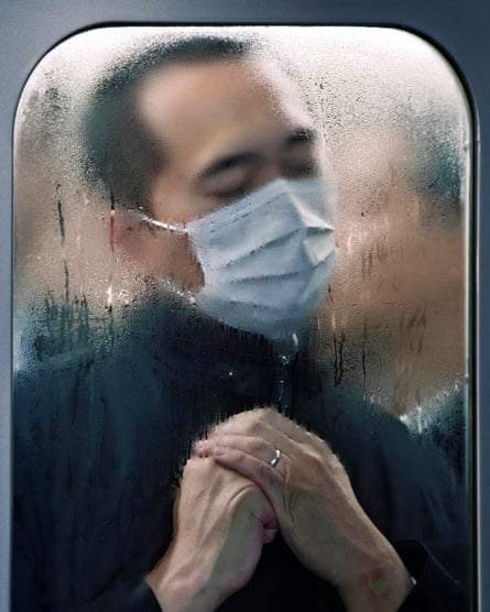 Tokyo Compression #75, 2011, by Michael Wolf.
