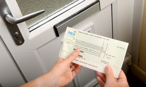 Premium Bonds winner receives prize cheque in post