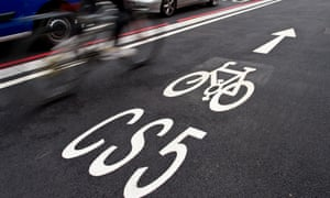 CS5 was London's first two-lane fully segregated cycle superhighway