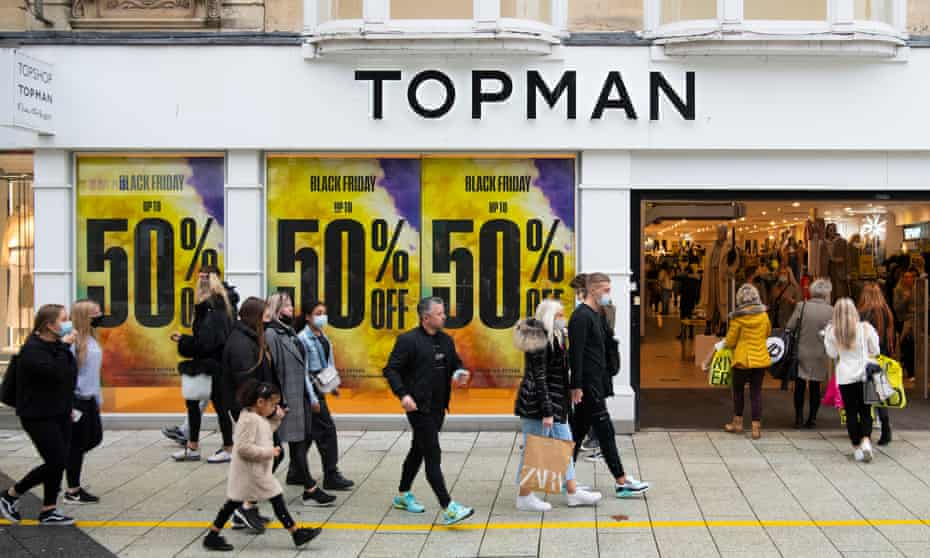 One of the Arcadia group's Topman stores