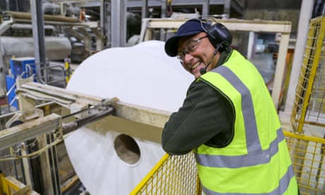 Inside the Factory: Keeping Britain Going review – praise be to loo roll!
