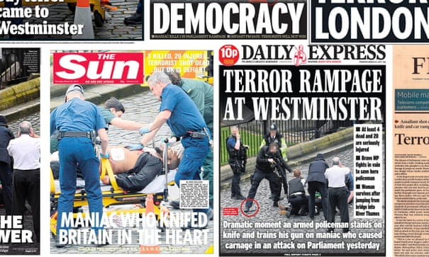 The media response to the Westminster attack reflects a divided