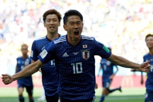 And celebrates putting Japan ahead.