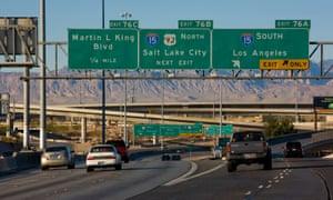 Interstate 15, Las Vegas.