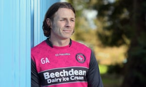 Wycombe's Gareth Ainsworth would like to manage at a higher level but 'I wouldn't be able to just … leave'.