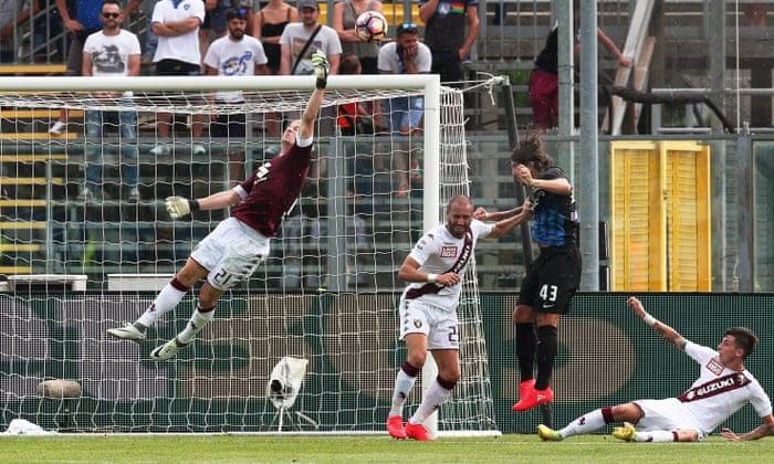 Joe Hart tekee kalliita virheitä Atalanta-taajuuskorjaimelle Torinon debyytillä