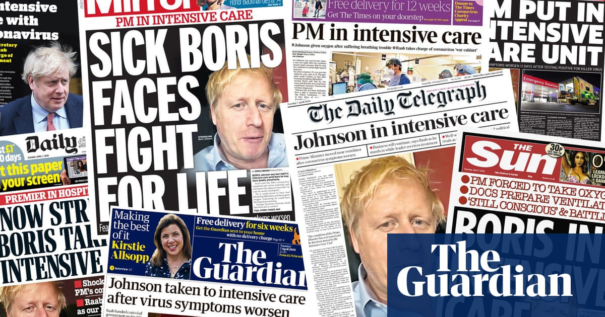 Full-scale emergency: what the papers say about Boris Johnsons move to intensive care