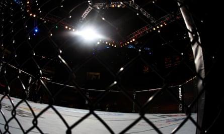 MMA octagon