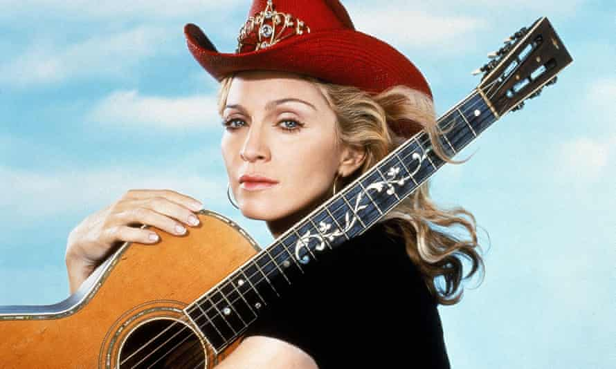 Madonna in 2001.