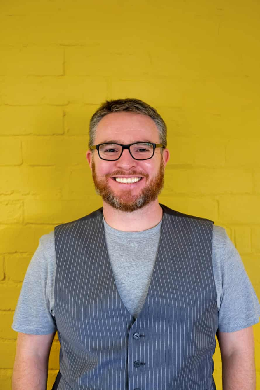 Dan Newns, 38, feels lucky having the option to hire from further afield since he took his company into remote working.