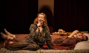 A simple, honest story of two people and how they cope ... Lillian Henley and Tom Adams in Elephant and Castle.