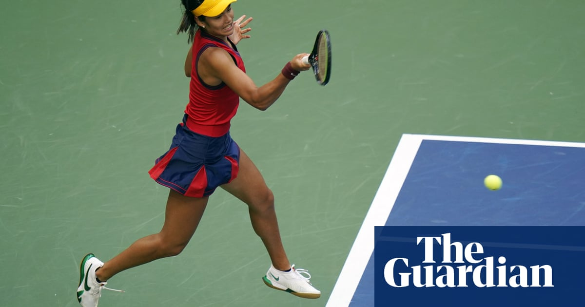 A-level student to US Open champion: Emma Raducanu's journey to the top