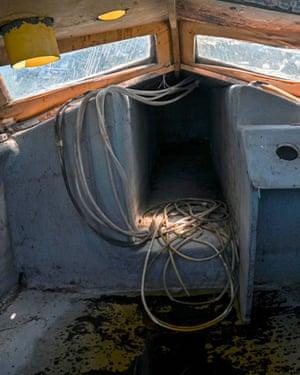 On board a derelict submarine