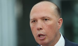 Peter Dutton's home affairs department has acknolwedged that identity-matching services bill would be used for 'the provision of more secure and accessible government and private-sector services'.