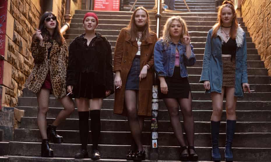 Marli Siu, Tallulah Greive, Abigail Lawrie, Sally Messham and Rona Morison in Our Ladies.