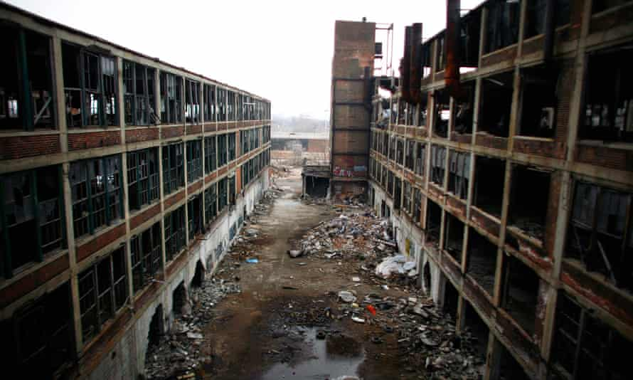 Abandoned manufacturing plant