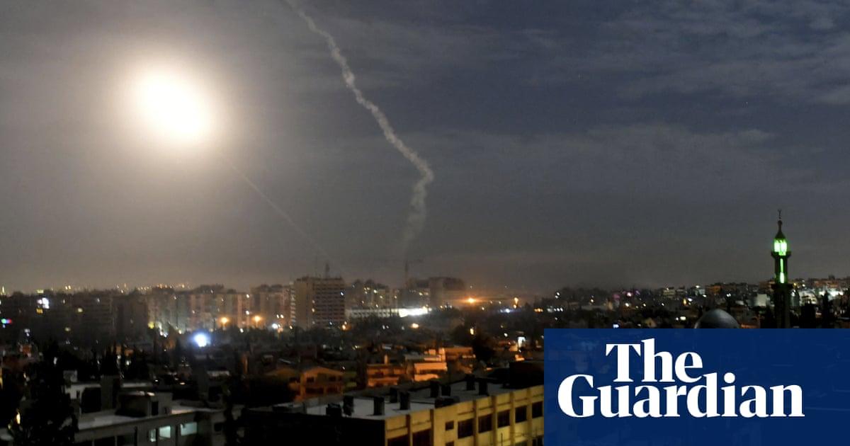 Israeli military strikes Iranian targets inside Syria ...